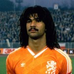 Ruud Gullit, the precursor of nine false