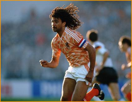 Gullit ganó la Eurocopa de 1988.
