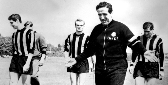 Helenio Herrera led Inter to the highest this year 1965.