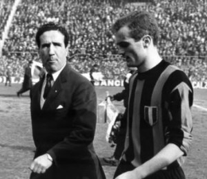 Helenio Herrera was the first controversial coach
