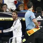 Sergio Ramos konnte bestraft werden mit bis 4 Streichhölzer