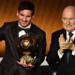 Leo Messi gana su cuarto Balón de Oro