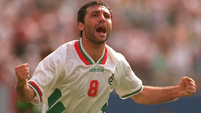 Hristo Stoichkov ging in der World Cup USA aus 94.