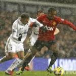 Tottenham y Manchester United empatan 1 en un Londres nevado