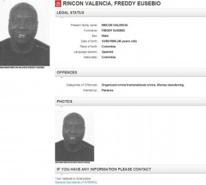 Freddy Rincón en busca y captura por la Interpol