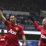 Manchester United win at Queen's Park Rangers; Arsenal Aston Villa