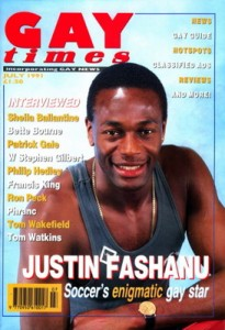 Justin Fashanu el primer jugador en confesar que era gay