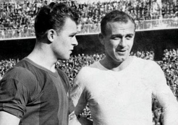 Los clásicos de los 50 tenían sus estrellas. Di Stéfano vs Kubala el equivalente al Cristiano vs Messi.
