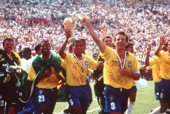 Mauro Silva won the World Cup in the US in 1994.