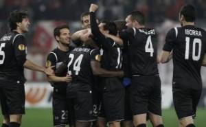 Olympiakos- Levante gol de Martins