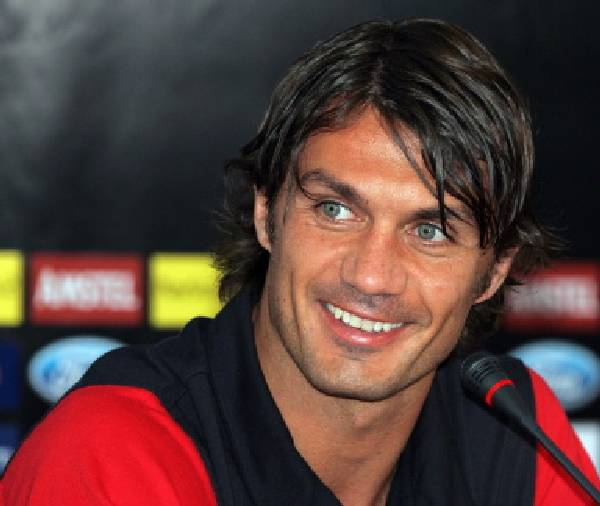 Paolo Maldini one of the most handsome guys in the world of football