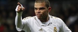 Pepe uno de los tipos mas feos y guarros de la Liga