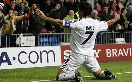 Raúl González, few players defined as