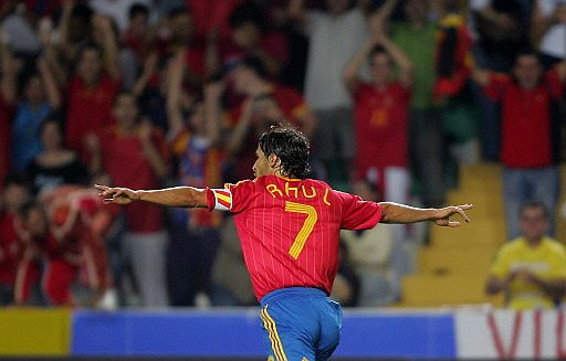 Raul was the top scorer with Spain until it was surpassed by David Villa.