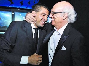 Riquelme reunited with Bianchi, another eternal Boca