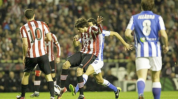Athletic 1- Real Sociedad 3 en el último derbi en San Mamés
