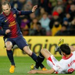 Barcelona 2- Sevilla 1: Villa and Messi give another victory at Barcelona