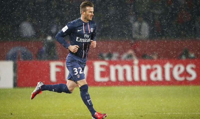 El Paris Saint Germain ganó el derbi de Francia al Marsella en el debut de Beckham