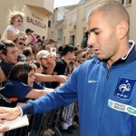 Benzema, driving hunted 216 Km/h