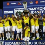 Colombia, champion South American U-20