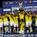 Kolumbien, Champion südamerikanische U-20