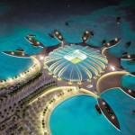 Doha Port Stadium: an artificial peninsula for a golf real treat for the World 2022