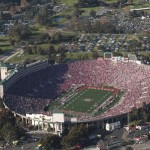 The Rose Bowl in Los Angeles, the only one with finals in Olympic Games and World male and female