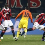 AC Milan 2- Barcelona 0: Italian complicate the pass to the quarterfinals