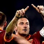 A goal by Totti for history 113 kilometers to Juventus
