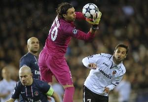 Valencia 1- PSG 2: Valencia CF overcome before a PSG where Ibrahimovic was sent off