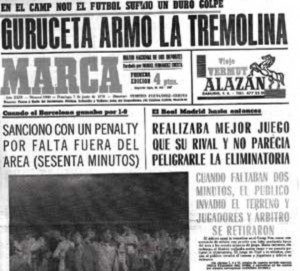 Guruceta said in 1970 a nonexistent penalty awarded to Barcelona.