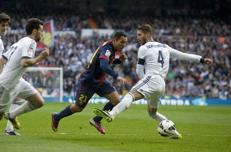 Ramos, again, wrapped in controversy.