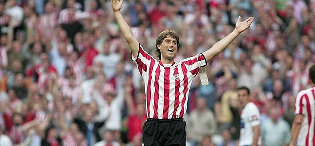 Julen Guerrero fue un referente del Athletic durante años.