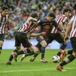 Athletic 2- Barcelona 2: los de Tito deberán esperar al partido del Betis para ganar la Liga