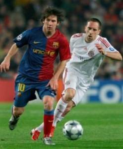 Messi Ribery 2009