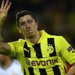 Robert Lewandowski, signed for Bayern Munich in return for 25 millions of euros