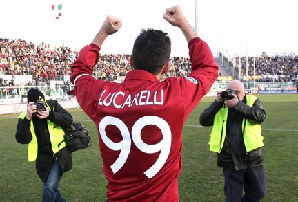 Large pufos of the Spanish League: Cristiano Lucarelli