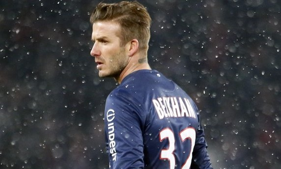 David Beckham is the player who takes the planet.