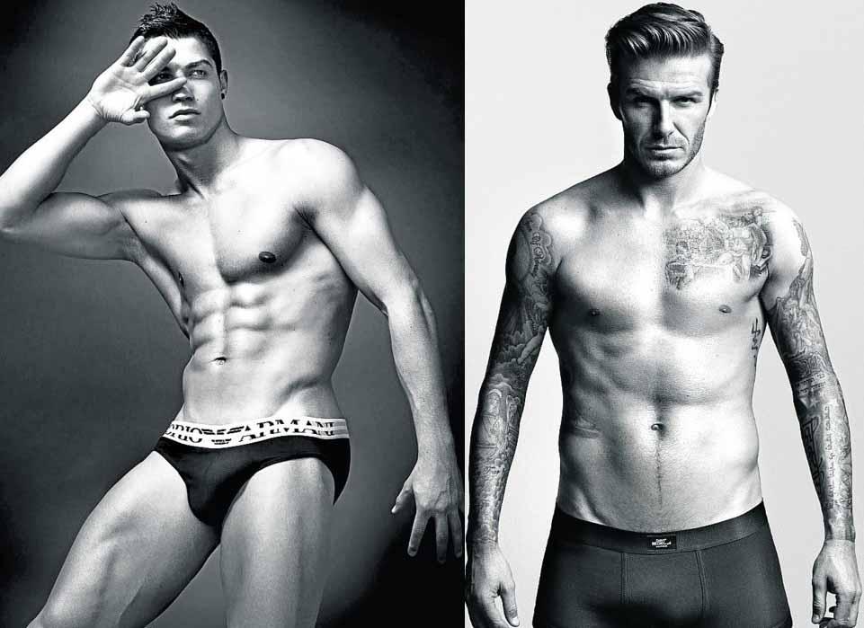 Si metiéramos de esta guisa en una maquina del tiempo a Cristiano Ronaldo o al recién retirado David Beckham, posiblemente, serian mirados de otra manera.