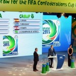Schedule of matches of the Confederations Cup 2013 to be held in Brazil