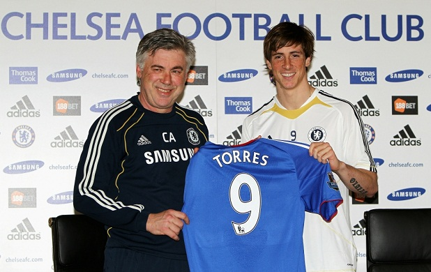 Fernando Torres has struggled to keep up with Chelsea