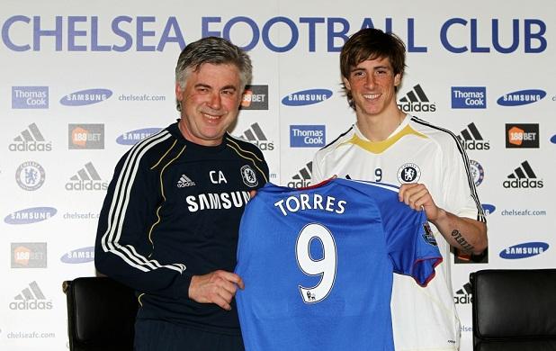 A Fernando Torres le ha costado estar a la altura en el Chelsea