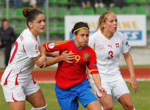 Vero Boquete is the reference Spanish women's team.