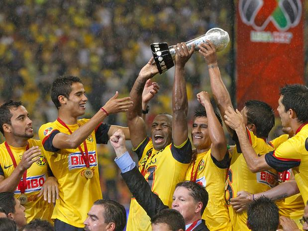 The American champion is crowned Clausura tournament 2013 of Mexico against Cruz Azul