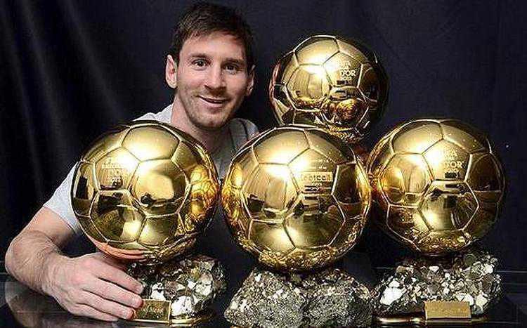 ¿quién ha ganado más veces el balón de oro?