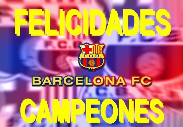 El Barcelona, campeón de la Liga 2012-13