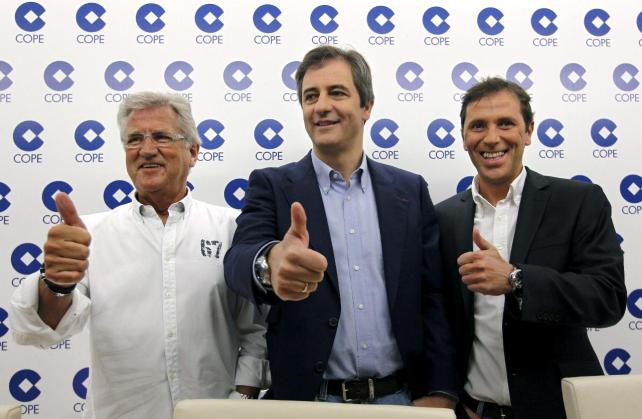 Castaño, Lama y González, tres hermanos de la Radio.