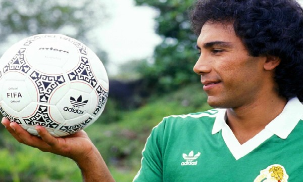 Hugo Sanchez tops the list of the best Mexican.