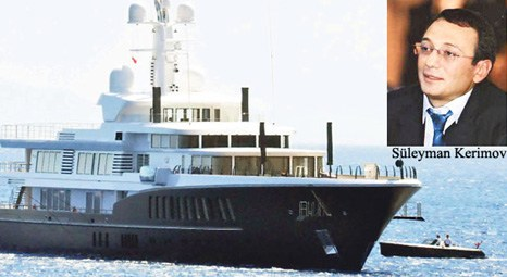 Kerimov is the owner of Anzhi and this yacht 90 meters.