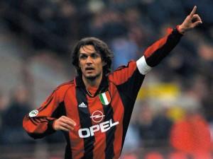 Maldini estuvo más de 20 años en la disciplina del AC Milan.